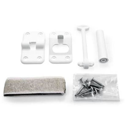 """Picture of Camco  3-1/2"""" White Door Holder 42383 20-2053"""