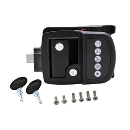 Picture of AP Products  Black Access Door Latch 013-509 20-5040