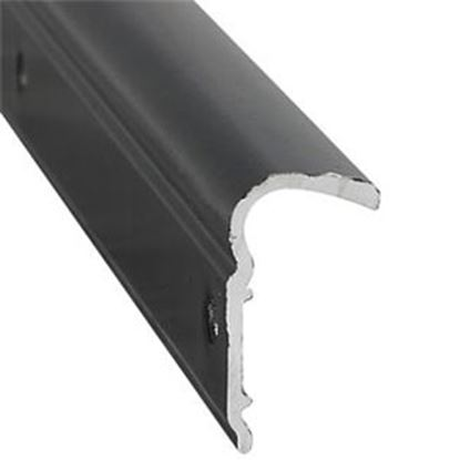 """Picture of AP Products  1-1/8""""W x 1/2""""T x 12'L Black Roof Trim 021-51102-12 20-6933"""