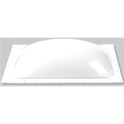 """Picture of Specialty Recreation  2-Pack 3-1/2""""H Bubble Dome Square White Polycarbonate Skylight K1414W 22-0054"""