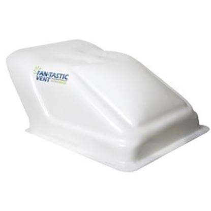 "Picture of Fan-Tastic Vent Ultra Breeze Exterior Dome White Translucent Roof Cover For 14"" X 14"" Vents U1500WH 22-0065"