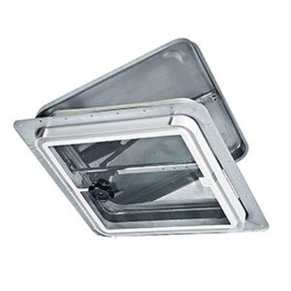 """Picture of Ventline  14.25""""x14.25"""" Polypropylene Frame Roof Vent V2110SP-23 22-0266"""