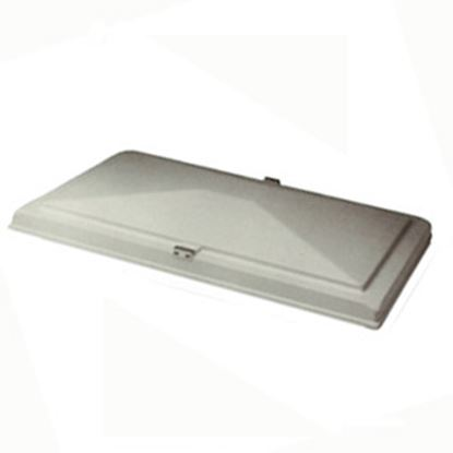 """Picture of Heng's  13"""" X 20"""" White Exit Vent Lid for Hengs/ Elixir 90007-C1 22-0354"""