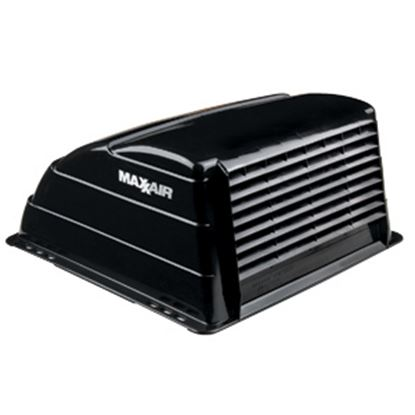 "Picture of MaxxAir  Exterior Dome Type Black Roof Cover For 14"" X 14"" Vents 00-933069 22-0383"