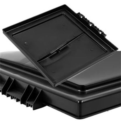 "Picture of Camco  Black Polypropylene 14"" x 14"" Elixir Style Roof Vent Lid 40176 22-0429"