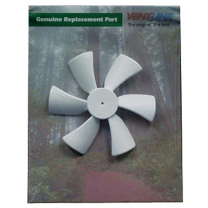 "Picture of Ventline  6"" x 1/8"" D Shaft CCW Fan Blade for Ventline 12V Ventadomes BVA0163-00 22-0446"