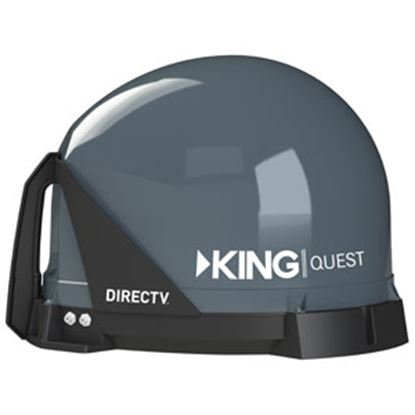 Picture of King Quest (TM) Portable Stationary Satellite TV Antenna VQ4100 24-0372
