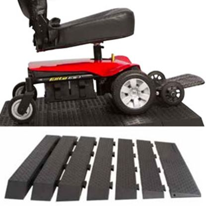 """Picture of Pride Mobility  Rubber Ramp Kit w/ 1"""" Rise RAMPRBK1R 25-0104"""