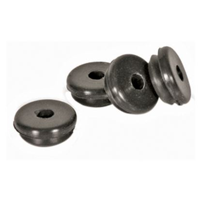 Picture of Camco  4-Pack Rubberized Silicone Stove Grate Grommet 43614 40-0468