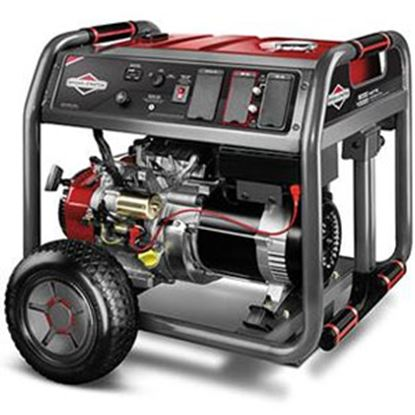 Picture of Briggs & Stratton Elite Series (TM) 8000W Gasoline Electric/ Recoil Start Generator 030664A 55-4855