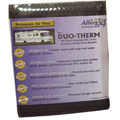 """Picture of Allergy 4 Allergy 4 0.4""""W x 9.5""""L x 12""""H Air Conditioner Filter 06384 69-0265"""