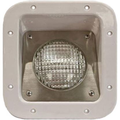 Picture of Intertek  Polar White Lens Rectangular Halogen Porch Light GL-101-18 69-5444