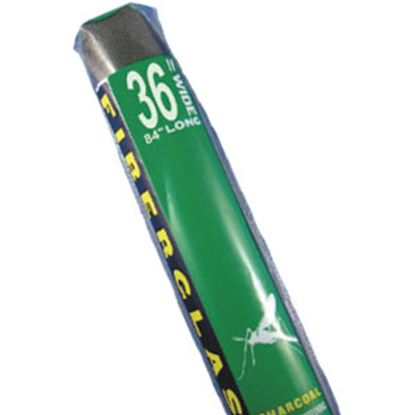 "Picture of Strybuc  Charcoal Fiberglas 36"" X 7' Window Screen 69-61-7 69-7382"