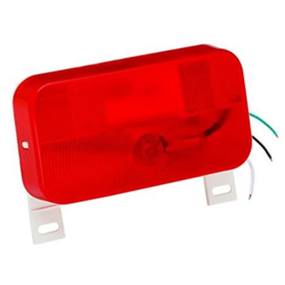 "Picture of Bargman 92 Series Red 8-9/16""x4-9/16""x2-1/8"" Stop/ Tail/ Turn Light 30-92-003 69-8413"