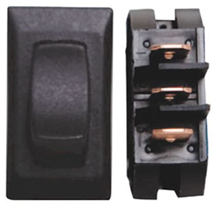 Picture of Diamond Group  3-Piece Black SPST Rocker Switch DGD127UPB 69-8837