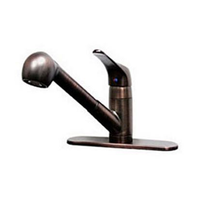 Picture of Lasalle Bristol  Bronze w/Single Lever Kitchen Faucet w/Pull Out Spout 268W0612ORB 69-9233