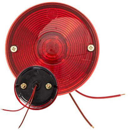 "Picture of Peterson Mfg.  Red 3-3/4"" Round Stop/ Turn/ Tail/ License Light V428 69-9510"