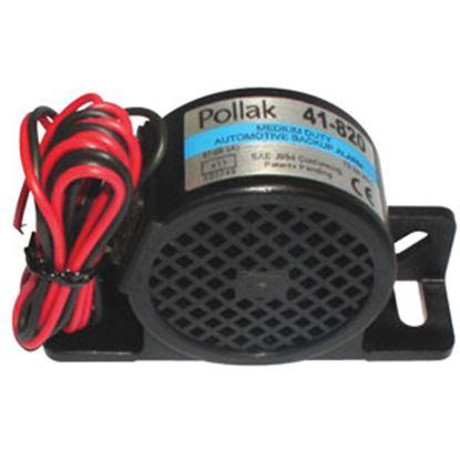 Picture of Pollak  12-24V Black Nylon Back Up Alarm 41-820 69-9529