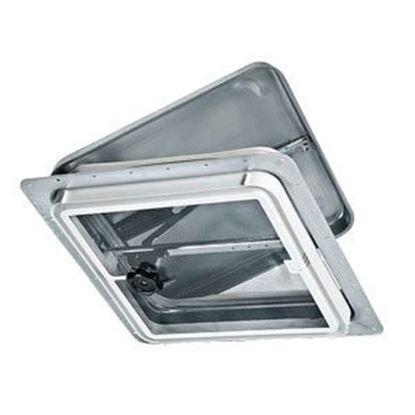 """Picture of Ventline  14.25""""x14.25"""" Polypropylene Frame Roof Vent V2110-601-00 71-0006"""