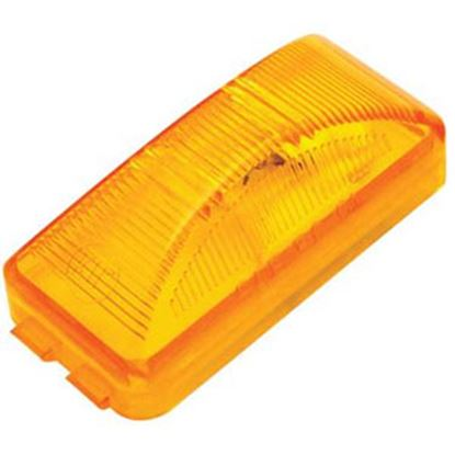 """Picture of Diamond Group  Amber 2-1/2""""W x 1-1/4""""H x 7/8"""" Thick Side Marker Light WP-1258AF 71-2598"""