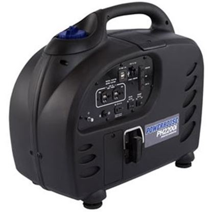 Picture of Power House  2100/2200W Gasoline Recoil Start Inverter Generator 68675 71-5999