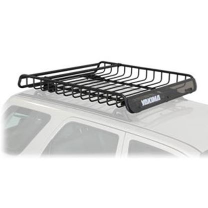 """Picture of Yakima MegaWarrior 35 Lb 52"""" x 48"""" x 6.5"""" Roof Mounted Cargo Basket  72-0701"""