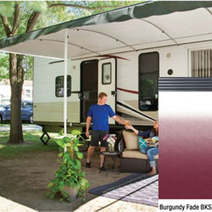 """Picture of Lippert Solera Destination 16'L X 9' 8""""Ext Spring Assist Patio Awning w/Black Solera Shield V000334859 90-2164"""