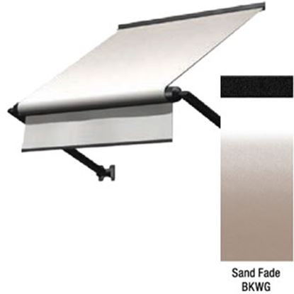"""Picture of Lippert Solara Sand Fade Vinyl 54""""L X 18""""Ext Manual Window Awning V000335057 90-2301"""