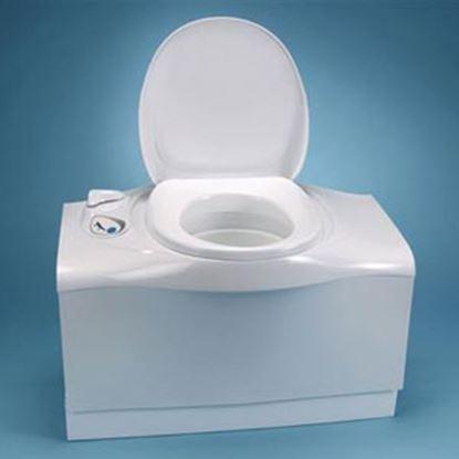 Picture of Thetford Cassette (R) C402C Cassette C402C White/ Medium Gray High Profile Permanent Toilet 32812 92-2051