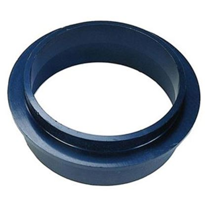 """Picture of JR Products  Black ABS Plastic 3"""" Projected Slip Holding Tank Fitting 216-SF 94-0837"""
