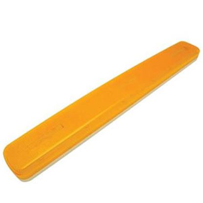 """Picture of Diamond Group  Amber 16-1/4""""W x 1-7/8""""H Side Marker Light 1A-S-1700A 96-5306"""